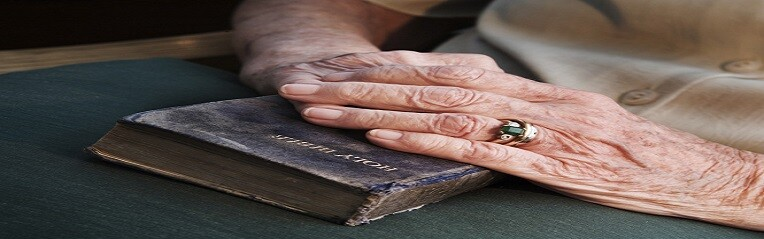 old_hands_on_bible